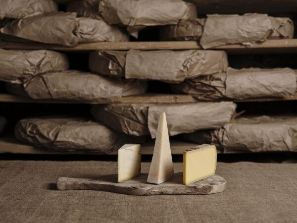 Cheese Box - Comte, Parmesan and Sparkenhoe